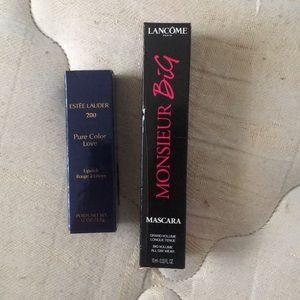 Mascara & lipstick bundle